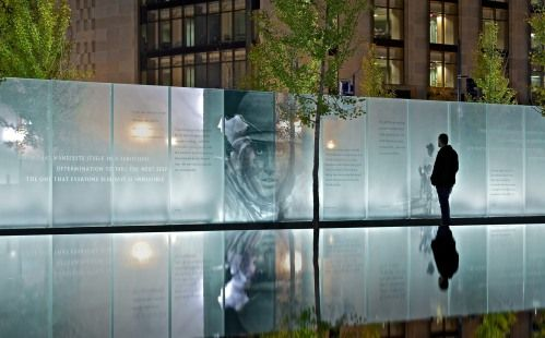 American Veterans Disabled for Life Memorial in Washington DC designed by Cloud Gehshan Associates