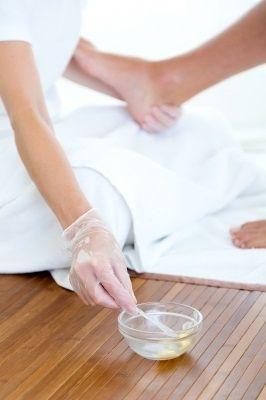 Liečivá masť na popraskané päty