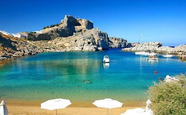 paralies rodou Beaches to visit in Greece! kolpos agiou paulou