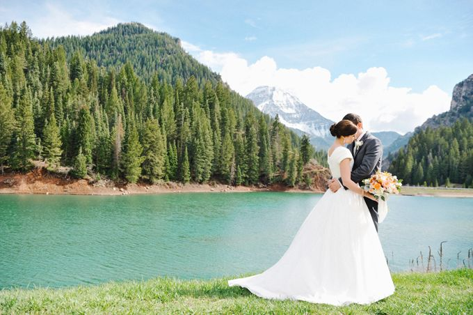 This is by another photographer - Rebekah Westover Photography - but here, Tibble Fork Reservoir is on the way to Silver Lake Flats.  Pretty too