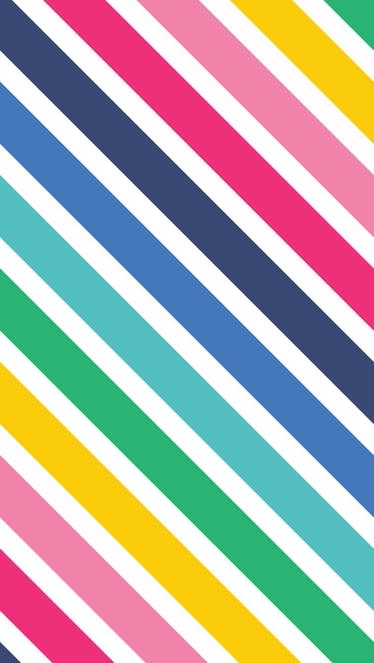 Rainbow Stripes ★ Find More Color Pop Wallpapers For Your
