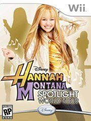 Hannah Montana Spotlight World Tour for Nintendo Wii