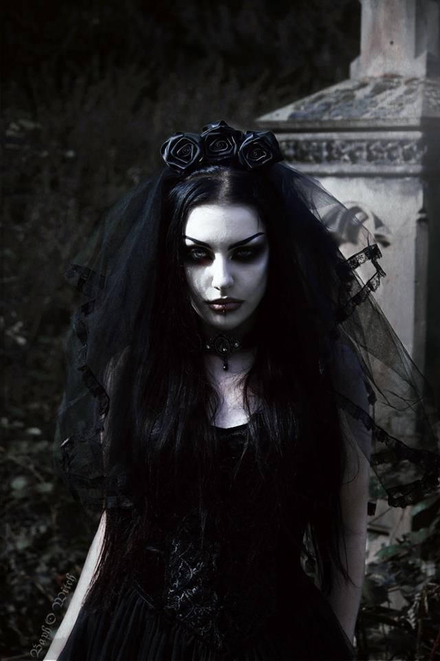 """gothicandamazing: """"Model/MUA/Edit: Baph O Witch Outfit: Sinister/ The Gothic Shop Photo: Mr_Mansinthe Welcome to Gothic and Amazing 