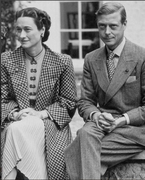 """Re-post from Hawes and Curtis """"Our loyal customer King Edward VIII caused a famous uproar in 1936 when he abdicated the British throne for the American Wallis Simpson. This week, in the run up to Valentine's Day, we celebrate love and the gifts that come with it."""" #YYCFashion #YYCStyle"""