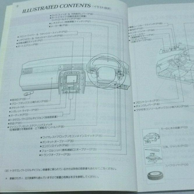 即決あり トヨタ ソアラ4 0車 Z30系 Uzz32 Uzz31 Uzz30前期 取扱説明書