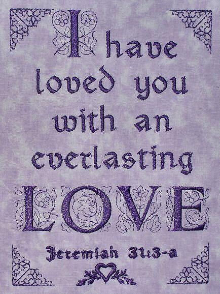 Jeremiah 31:3 ❥