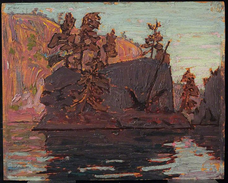 Tom Thomson, Petawawa Gorges, fall 1916 - Art Gallery of Ontario | West Wind