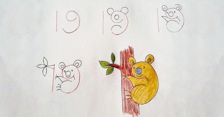 Θυμάστε τα παλιά βιβλία που μας μάθαιναν πως να ζωγραφίζουμε με απλές γραμμές, έτσι ώστε να καταλήγουμε στον αγαπημένο μας ήρωα της Disney; Κάτι παρόμοιο συμβαίνει στις παρακάτω ζωγραφιές, μόνο που χρησιμοποιούνται αριθμοί! 1) Αυτή η πάπια ξεκινάει με το 29 2) Ένα 3 γίνεται κουνελάκι 3) Το 12 γίνεται τρυποκάρυδος 4) Κάθε 19 θέλει …