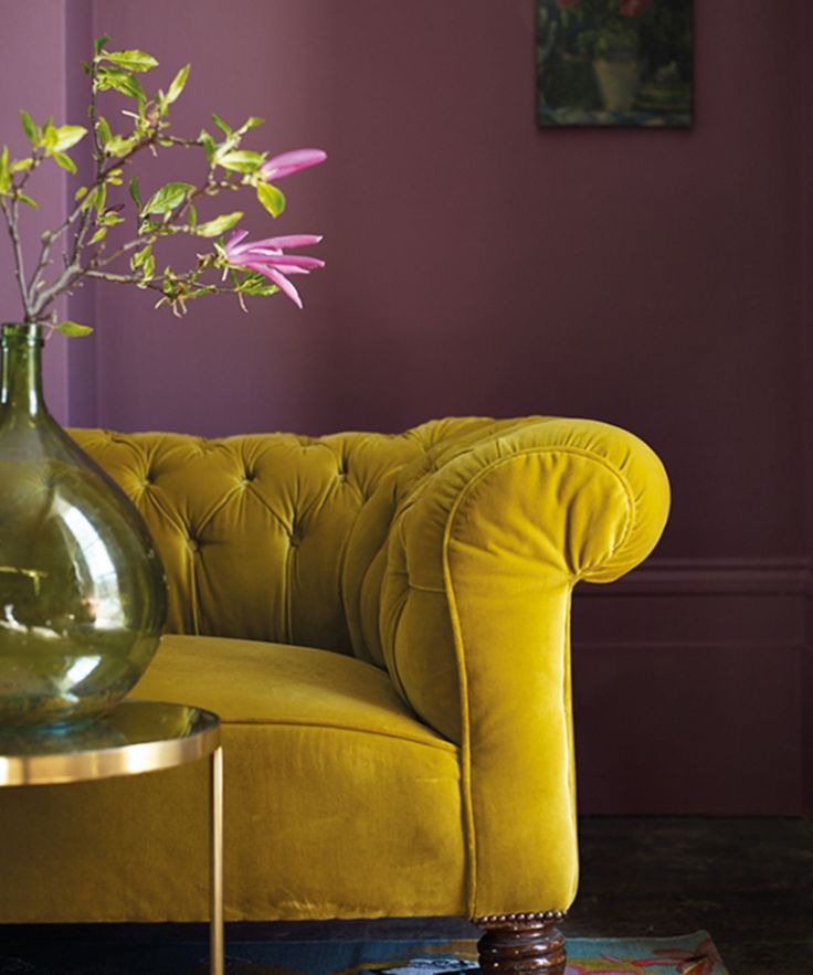 Unlikely Colour Combination - Interior Design | Taking a look at the clashing colour combinations that shouldn't work in the home, but somehow do #refinery29 http://www.refinery29.uk/decorating-tips-wall-colour-schemes