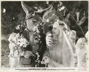 Max Reinhardts A Midsummer Nights Dream. Very beautiful even in black and white.