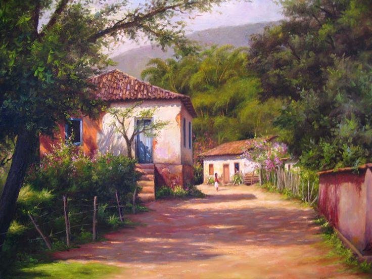 <center>AS PINTURAS DO ARTISTA PLÁSTICO DAVI JUPIRA</center>