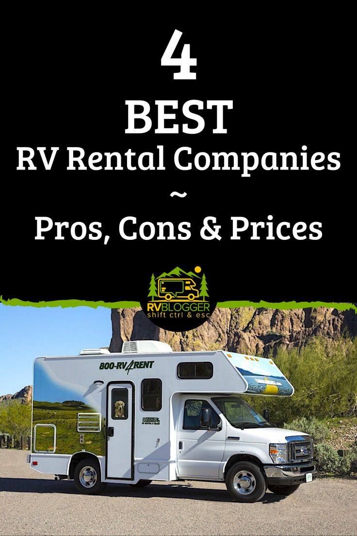 4 Best RV Rental Companies Pros, Cons and Prices in 2020