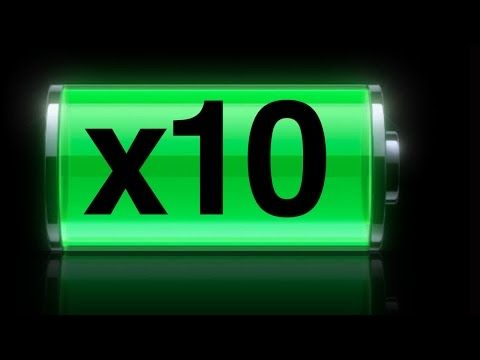 Why Does My iPhone Battery Die So Fast? How to FIX ,Boost iPhone iPad iPod Battery - YouTube