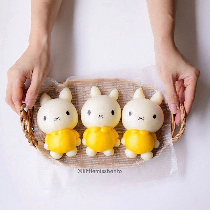Miffy steamed buns by Little Miss Bento・Shirley シャリー (@littlemissbento)