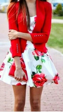 Vestidos con chaqueta  #Lovely #style. I love it #fashion #clothes #dress #Beautiful #accessories #custom #fashion #clothes #fashiondiary #clothing