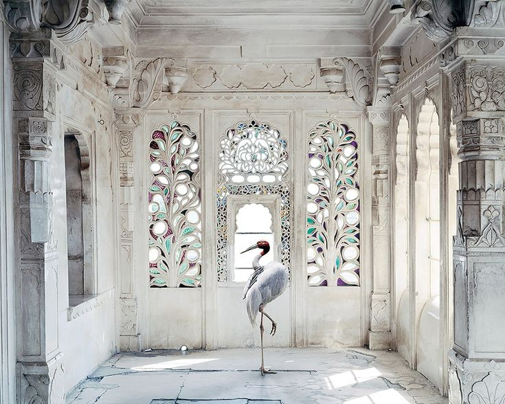 Tapete Panorama A PLACE LIKE AMRAVTI NO 2 by Inkiostro Bianco Design Karen Knorr
