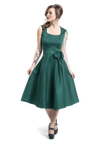 Bow Dress - Mittellanges Kleid von Dolly and Dotty
