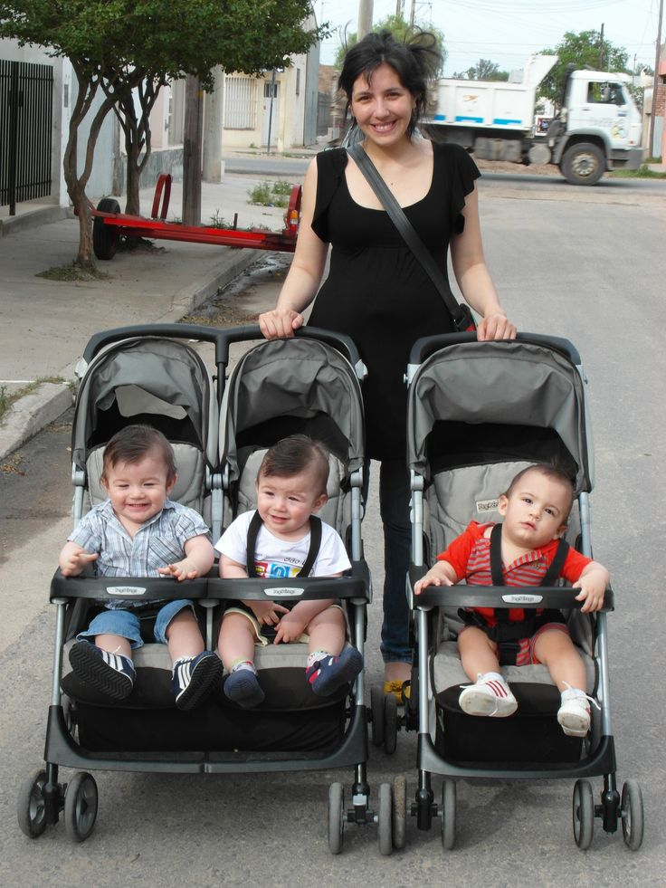 Paseo #Triplets #Trillizos