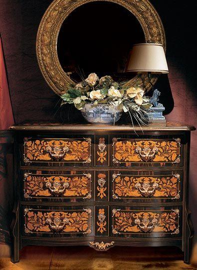 Die Klassischen Italienischen Möbel Provasi Kommode