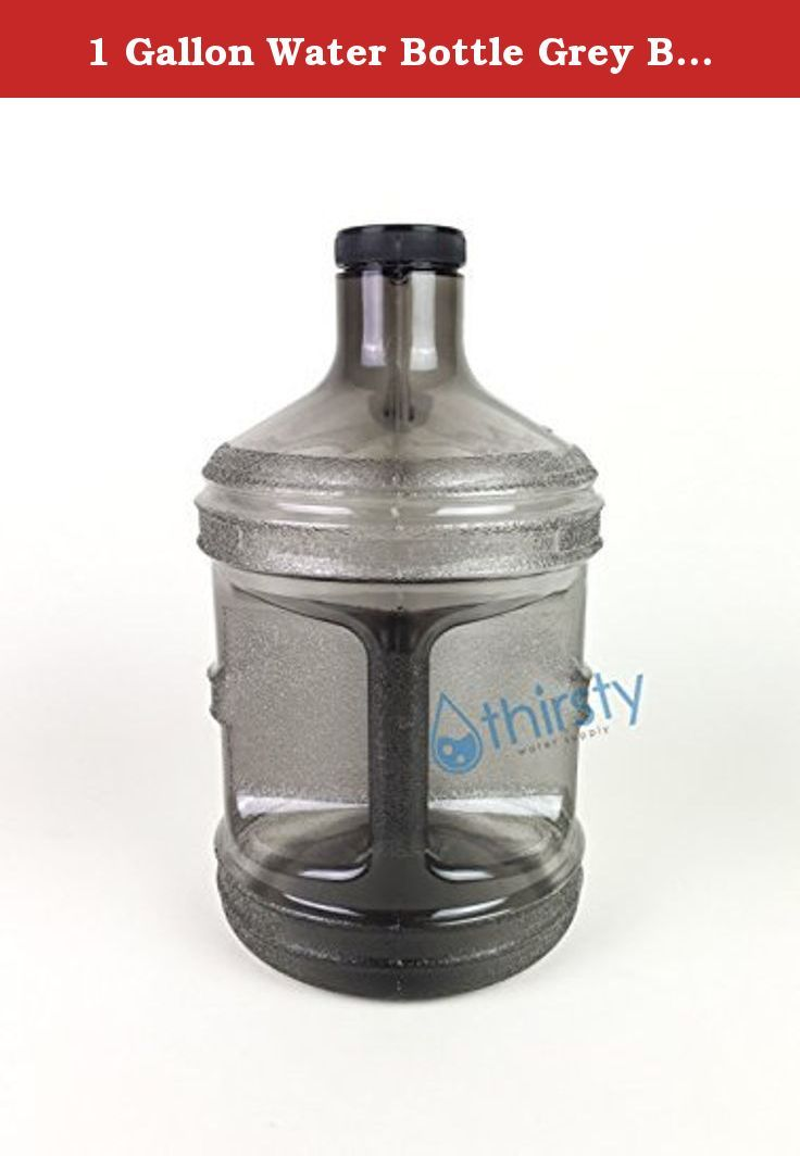 1 Gallon Water Bottle Grey BPA Free Plastic Jug Canteen Reusable Container Drinking H2O Aqua New. 1 Gallon Water Bottle. BPA Free. Grey. Eco Friendly.