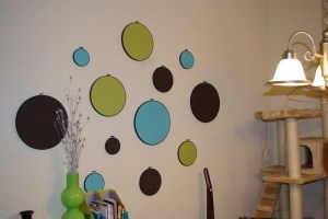 Sewing Hoops Made Modern:  Check Out The How-To On The Website!Julia Room, Wall Art, Sewing Hoop, Kids Room, Girls Room, Leah Room, Crafts Diy, Bedrooms Stuff, Girl Rooms
