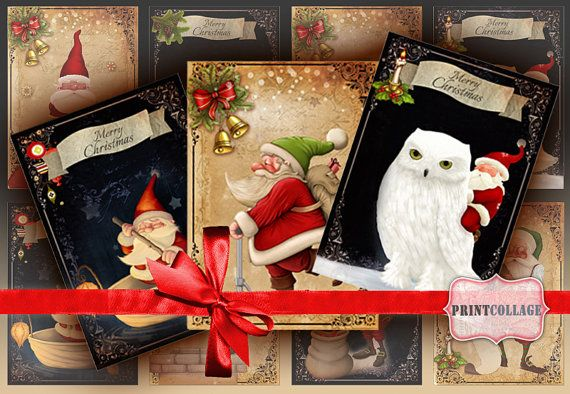 Gift Tags and Cards for Scrapbooking Printable by PrintCollage