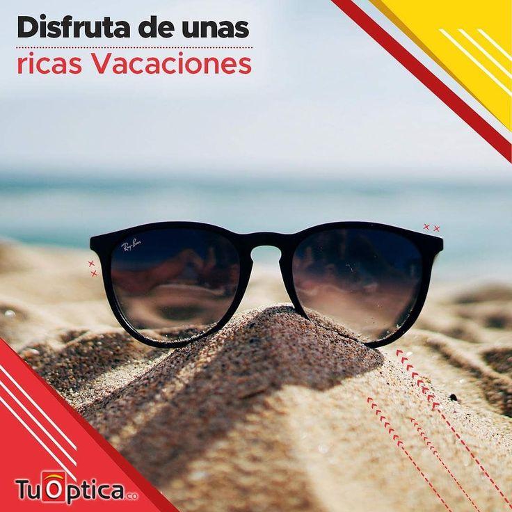 Disfruta de unas merecidas vacaciones acompañada de unos bellísimos lentes de sol  Tenemos gran variedad disponible para todos los gustos.  Te puedes acercar a cualquiera de nuestros puntos ópticos.  Contacto (5) 3689197 / 318 2064951 Estamos ubicados en Barranquilla calle 72 # 56-18 y en Valledupar calle 15 # 14-33 Edificio Portal del Valle teléfono (5) 808234.  Envíos a todo el país.  #Economía #Vacaciones #Calidad #Estilo #Montura #Óptica #Barranquilla #Valledupar #Colombia #Lentes…