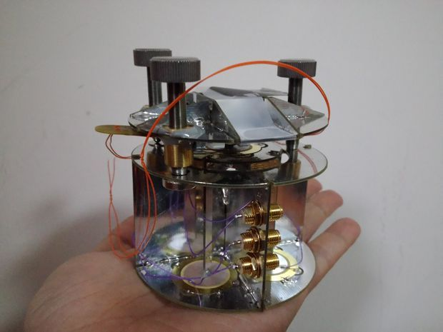 Picture of A Low Cost Educational Atomic Force Microscope 教育型原子力顯微鏡