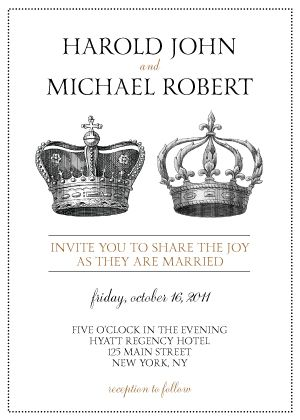 33 best crown images on pinterest crowns crown and invitations crown invitation stopboris Gallery