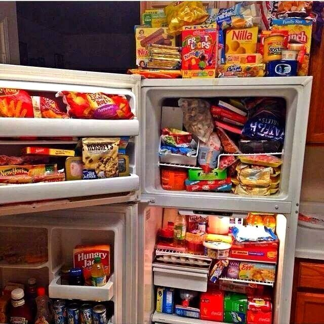 This Refrigerator Is Full Of