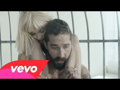"Une voix...un mouvement...de l émotion. Shia LaBeouf And Maddie Ziegler Unleash ""Elastic Heart"".Gna"