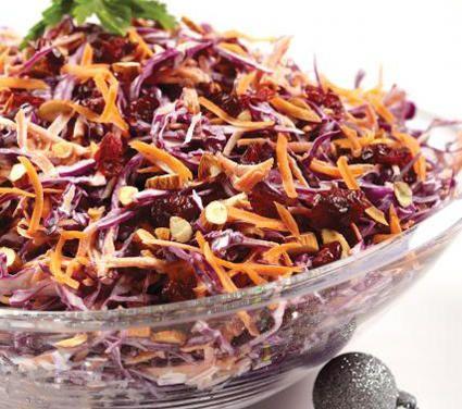 Ensalada de col morada con zanahoria - Cocina Vital