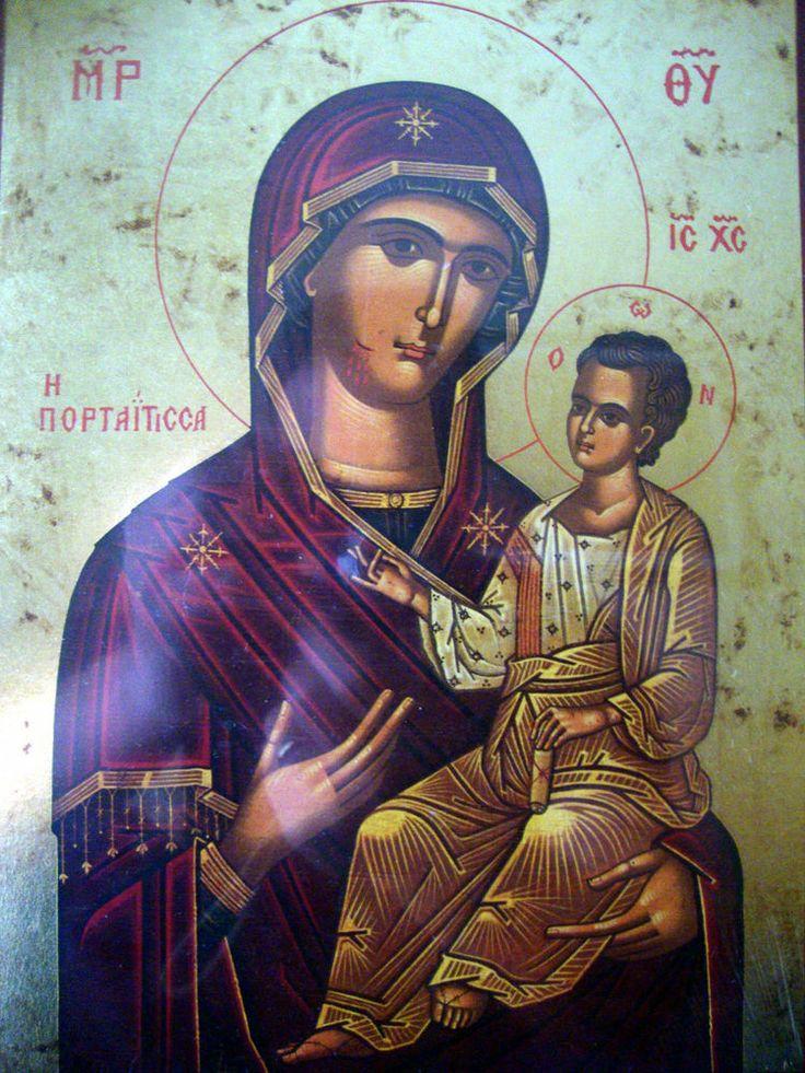 Panagia Portaitissa Παναγια Πορταιτισσα -Greek Russian Religious Orthodox Icon