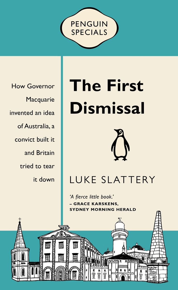The First Dismissal by Luke Slattery.
