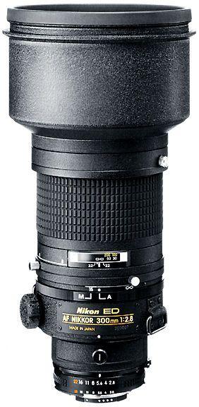 First version of the AF Nikkor 300mm f/2.8 EDIF