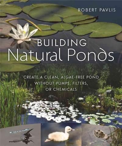 Building Ponds Create a Clean, Algae-free Pond Without Pumps