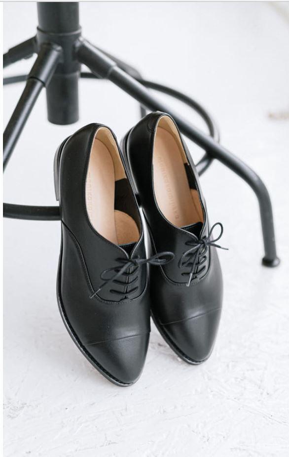 Oxfordy Damskie Skorzane Oxford Shoes Womens Oxfords Shoes
