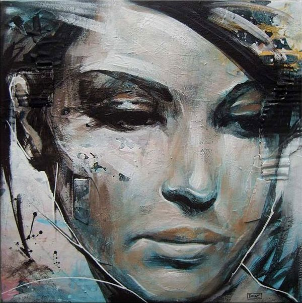 Beautiful Portrait Paintings by Danny O'Connor
