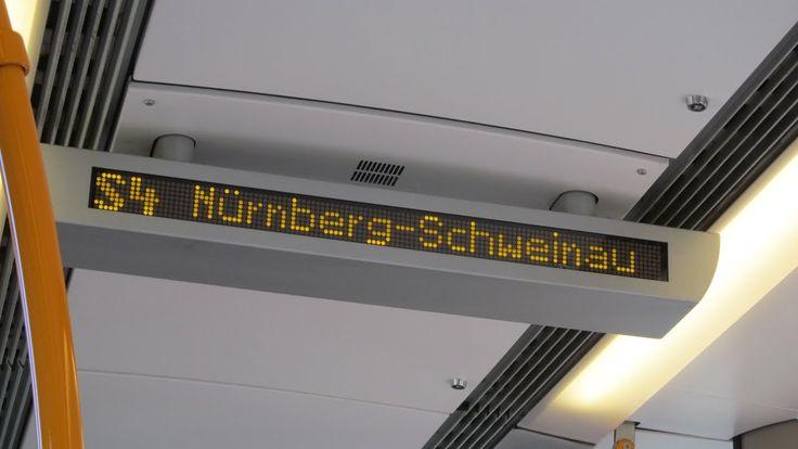 S-Bahn Nürnberg - S4 endet in Nürnberg-Schweinau