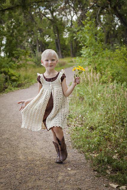 Ravelry: Cerah83's Mary's Pinafore. Crochet dress free pattern