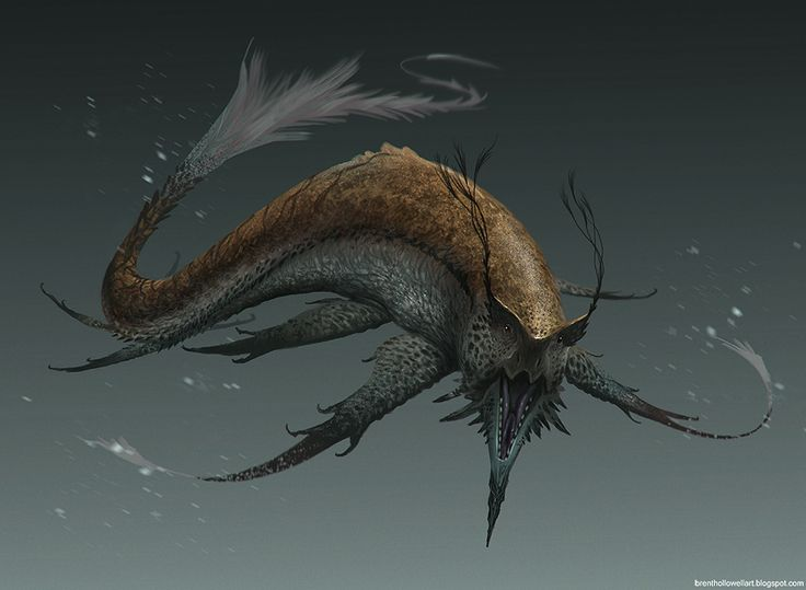 Fangfish: These fish haunt the waters of Terrafell in swarms and prey on the unwary.