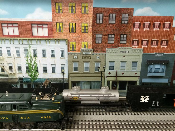 48 best images about toy trains on pinterest models for Apartment complex layout