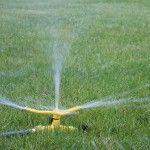 Garden Lawn Ornaments – Sprinkler – NELSON 3-Arm Whirling Sprinkler