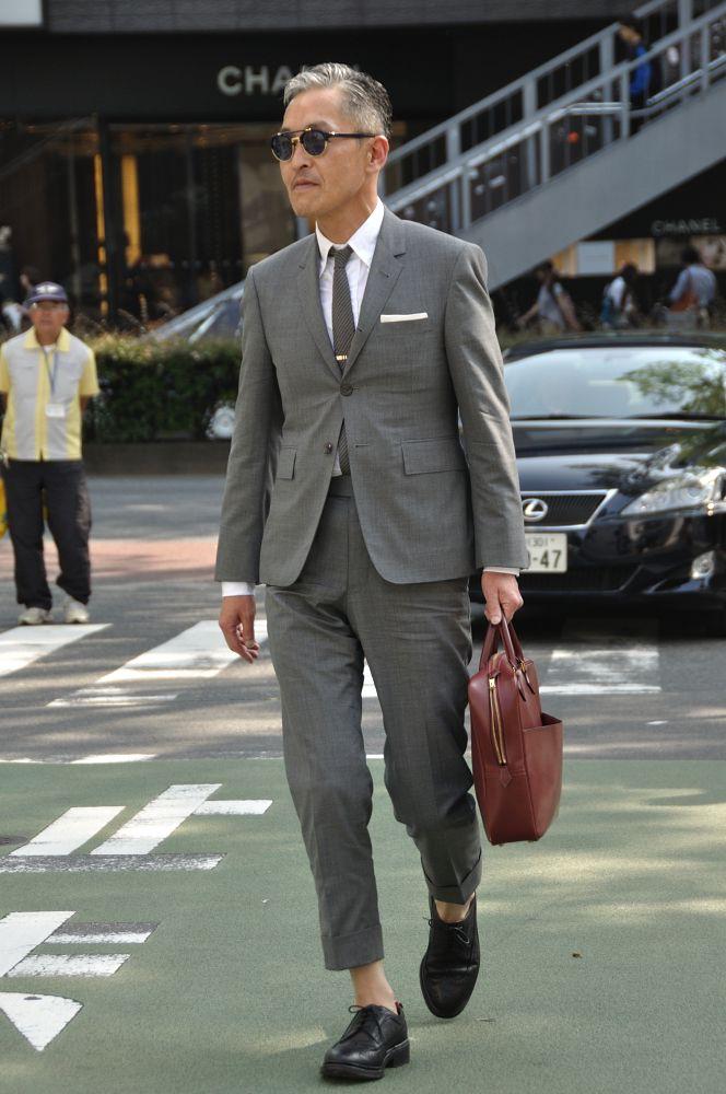 MItyp: on the street .. Harajuku - Thom Browne Style -