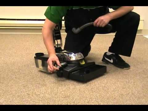 How to use the Kirby Carpet Shampoo System - YouTube
