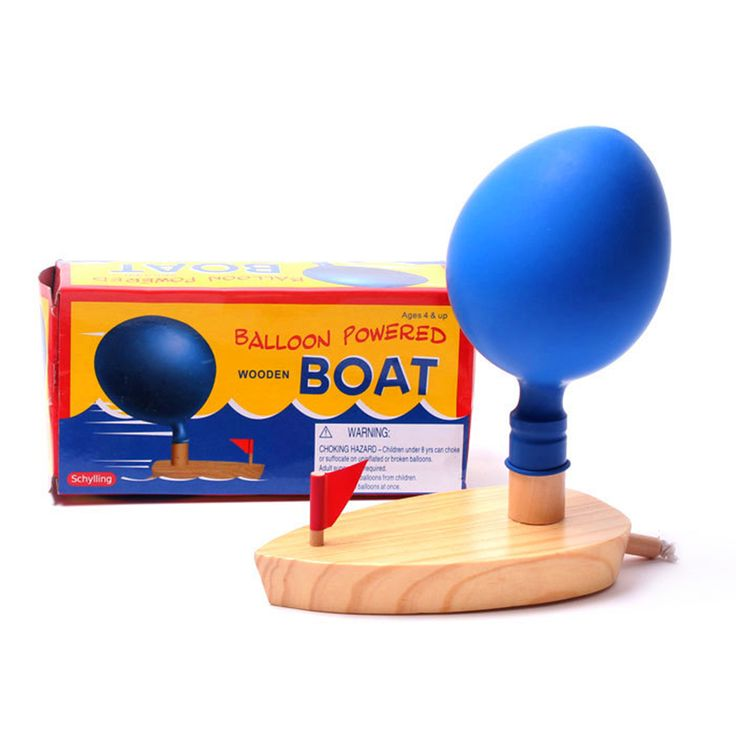 Schylling Baby bath Toys Balloon Boat toys in The Bathroom Classic Toys Funny Game Wooden Bath Toys Gift