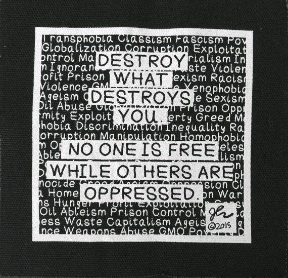 Pin By Teebth On Punk Rock Punk Patches Diy Prints Punk Rock Shirts