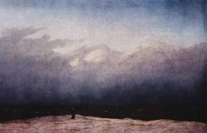 바닷가의 수도사 - 카스파르 다비드 프리드리히