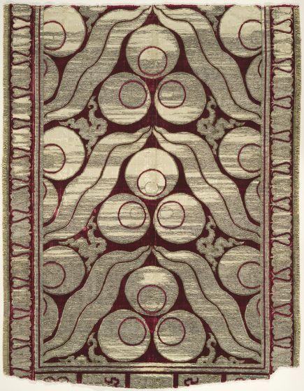 Fragment of a Velvet Yastik (cushion cover)   Harvard Art Museums