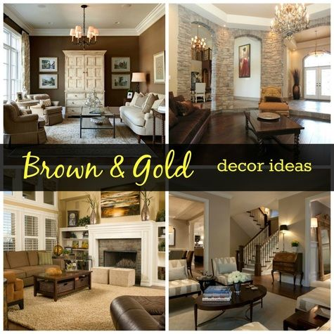 #brown #gold #decorideas #homedecor #roomdecor